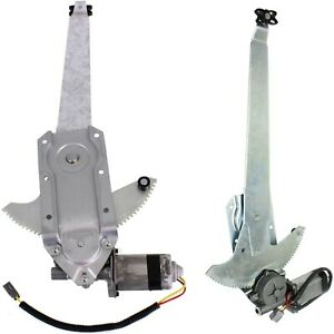 Power Window Regulator For 80 96 Ford F 150 Set Of 2 Front With Motor