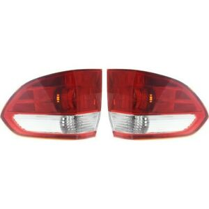 Set Of 2 Tail Light For 05 07 Honda Odyssey Driver And Passenger Side Outer
