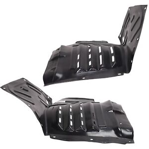 Splash Shield For 2004 2008 Mazda Rx 8 Front Left Right Front Section Set Of 2