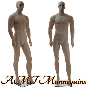 Male Mannequin Display Realistic Young Muscular Looking Handmade Manikin xm110
