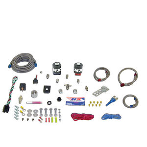 Nx 20113 00 Nitrous Express Ford Mustang Race Nozzle Kit No Bottle 100 250hp