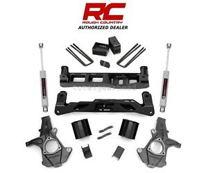 2007 2013 Chevrolet Gmc 1500 2wd 5 Rough Country Suspension Lift Kit 261 20