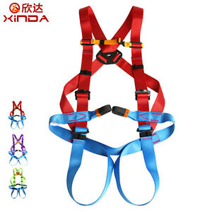 Professional Rock Climbing Mountaineering Full Body Harness Safety Rescue Belt