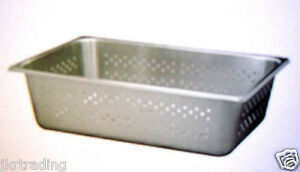 New Polarware P20126 Full Size Perforated Steam Pan 6 in Deep Nsf