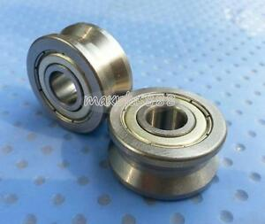 10pcs V Groove Track Roller Guide Vgroove Sealed Ball Bearing 10 30 14mm New