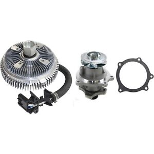 New Water Pump Kit Olds Chevy Chevrolet Trailblazer Gmc Envoy Oldsmobile Bravada