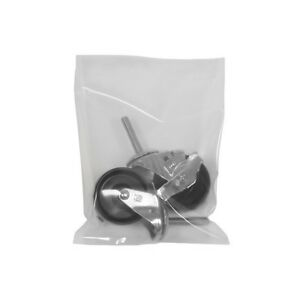 flat 8 Mil Poly Bags 18 X 24 Clear 100 case