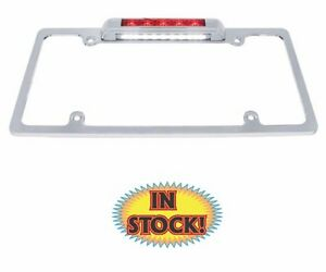 United Pacific 50148 License Plate Frame With 3rd Brake Light