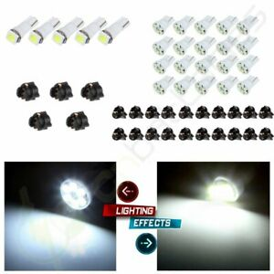 T5 T10 White Led Bulb Instrument Cluster Gauge Dash Light For Jeep Cherokee