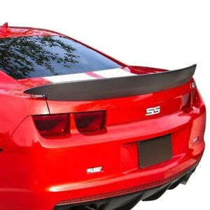 For Chevy Camaro 10 13 Pure Factory Z28 Style Flush Mount Rear Spoiler Unpainted