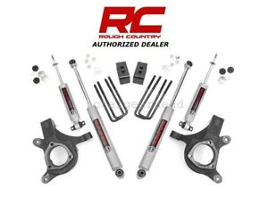 1999 2006 Chevrolet Gmc 1500 2wd 3 Rough Country Suspension Lift Kit 232n2