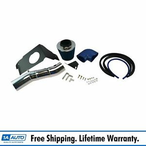 Performance Cold Air Intake Cai W Blue Air Filter For Ford Mustang Gt 4 6l V8