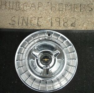 Ford Thunderbird 3 Bar Spinner Hubcap T bird Wheel Cover Factory 1963 Ac3 Origin
