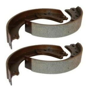 Set Of 4 2 Pair Bonded Brake Shoes 8n2200b For Ford Naa Jubilee 8n Tractor