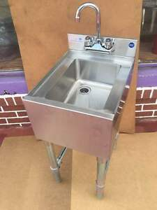 Commercial Single Compartment Bar Sink Bar Hand Sink Dump Station