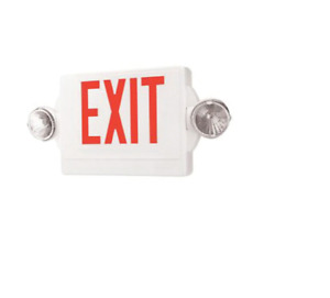 Lhqm s w 3 r 120 277 Lithonia Exit Sign Emergency Sign Combination Unit Led