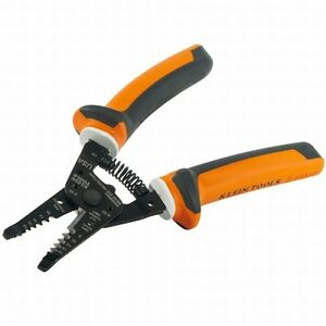 Klein Tool Electrician s Insulated Wire Stripper And Cutter