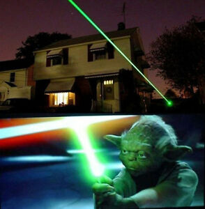 Military Grade 2n1 Galaxy Effect s Green Laser 532nm 5mw with A 10 Mile Range