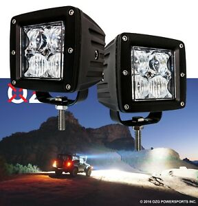 Oz usa 4d Pod Combo Flood Spot Phillips Led Lights Fog Atv Offroad 3x4 Truck