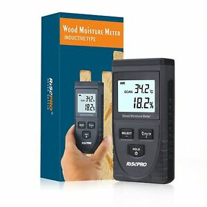 Lcd Display Digital Wood Moisture Meter Humidity Tester
