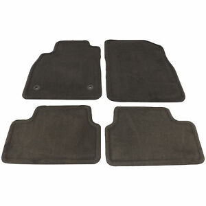 2012 15 Chevy Cruze Floor Mat Front Rear Cocoa Brown Carpet New Gm 23479293