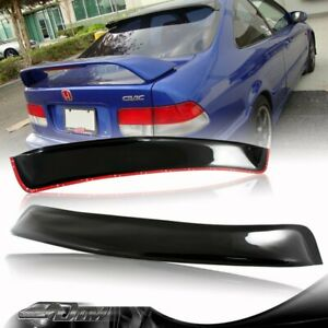 For 1996 2000 Honda Civic 2 Door Abs Plastic Rear Roof Window Visor Spoiler Wing