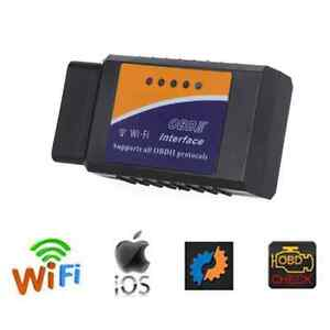 Wifi Obd2 Obdii Elm327 Ios Pc Ipad Android Bluetooth Car Adapter Scanner Torque