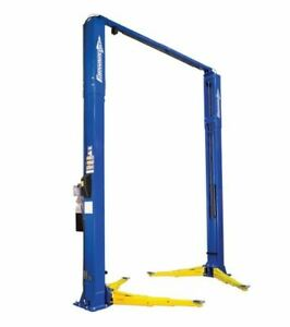 Rotary Revolution R12 Two Post 12 000lb Auto Lift 2 stage Front And Rear Arms