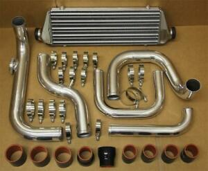Civic Integra Delsol D15 Bolt On Turbo Chrome Intercooler Piping Kit Br Couplers