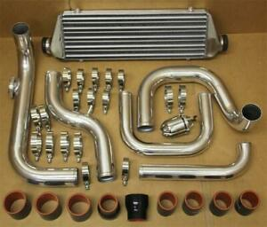 Civic Integra Delsol Bolt On Turbo Chrome Fmic Intercooler Piping Coupler Kit Br