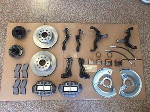63 65 Early Corvette Front Disc Conversion Kit