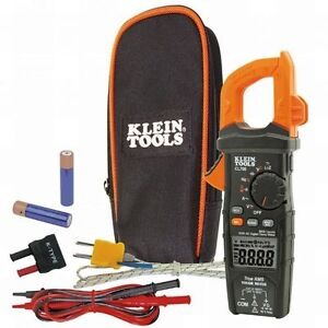 Klein Tool Cl700 Auto ranging 600a Ac Digital Clamp Meter