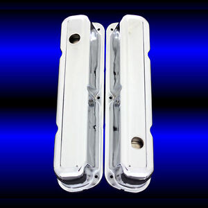 Valve Covers Fits Small Block Mopar Dodge Plymouth 318 340 360 Engines Chrome