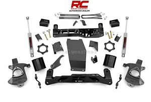 14 17 Chevrolet Gmc 1500 4wd 5 Rough Country Lift Kit Aluminum stamp 22430