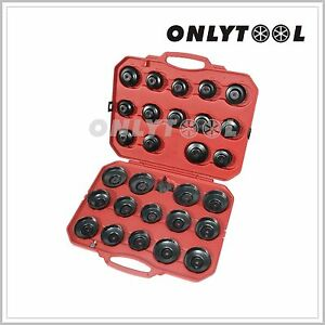 30pcs Oil Filter Cap Wrench Cup Socket Tool Set Mercedes bmw vw audi volvo Etc