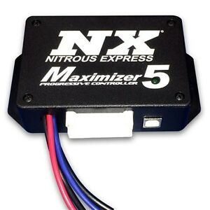Nit 16008 Nitrous Express Maximizer 5 Progressive Controller Operates 4 Stages