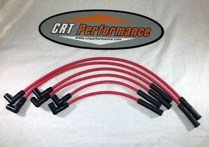 Chevy Inline 6 Straight 6 194 216 235 Hei 8mm Red Spark Plug Wire Set Usa