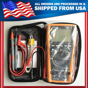 Us Seller Vc97a 3 3 4 Auto Range Digital Multimeter All Func Prot Replace Vc97