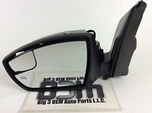 2013 2016 Ford Escape Left Driver Side Outside Mirror Without Cap Cover New Oem