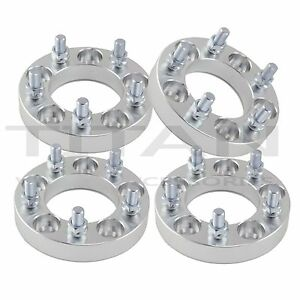 4 1 Inch 5x4 5 To 5x4 5 Wheel Spacers 25mm 1 2 X 20 Studs