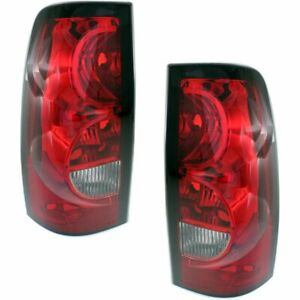 Pair Tail Lights Lamps Set Of 2 New Right And Left Chevy Styleside Lh