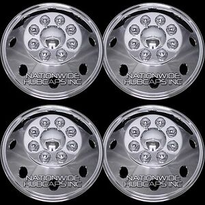 4 Chrome Promaster 1500 2500 3500 Cargo Van 16 Wheel Covers Full Rim Hub Caps