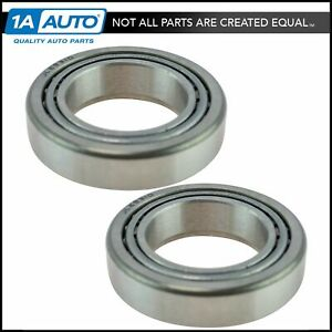 Front Wheel Bearing Race Set Lh Driver Rh Passenger Sides Pair For Dodge Ford