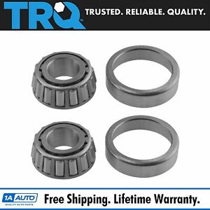 Front Outer Wheel Bearing Pair Set Of 2 For Alfa Romeo Chevy Ford Jeep New