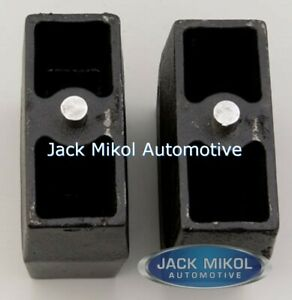 Pro Comp 5 5 Inch Rear Lift Block Lift Blocks 95 550b Exp95 550b