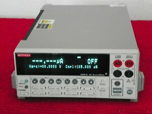 Keithley 2420 c High current Sourcemeter W contact Check Up To 90 Day Warranty