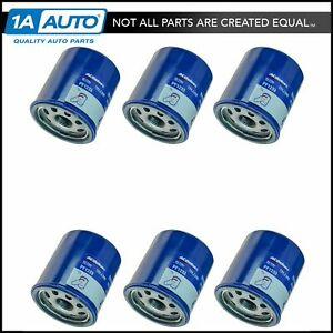 Acdelco Pf1233 Engine Oil Filter Set Of 6 For Chevy Geo Pontiac Scion New