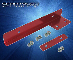 Front Bumper Red License Plate Relocator Relocation Bracket Scion Tc Xa Xb Xd