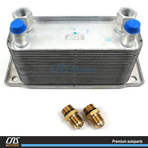Transmission Oil Cooler For 2003 2009 Dodge Ram Diesel 2500 3500 5 9l 68004317aa