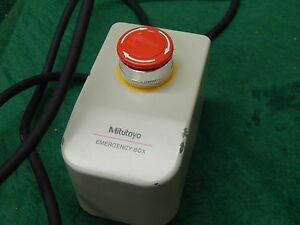 Mitutoyo Cmm Emergency Stop Box P n 960712